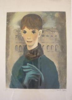 Stich Lydis - Femme aux gants
