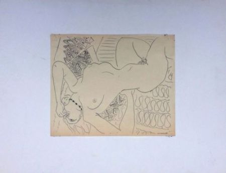 Keine Technische Matisse - Femme Nue Allongée