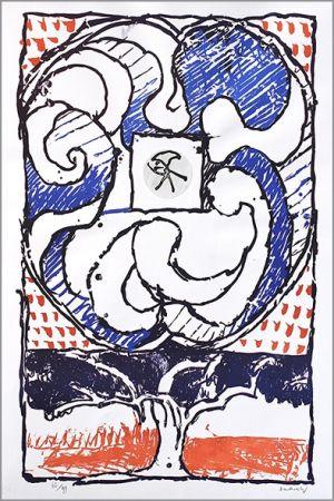 Lithographie Alechinsky - Fenêtre