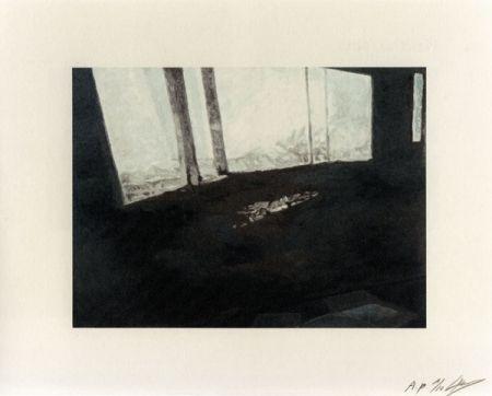 Lithographie Tuymans - Fenetre