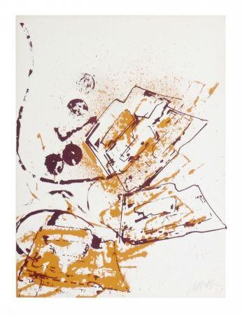 Lithographie Arman - Fer À Repasser