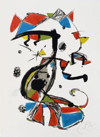 Lithographie Miró - Festa Major