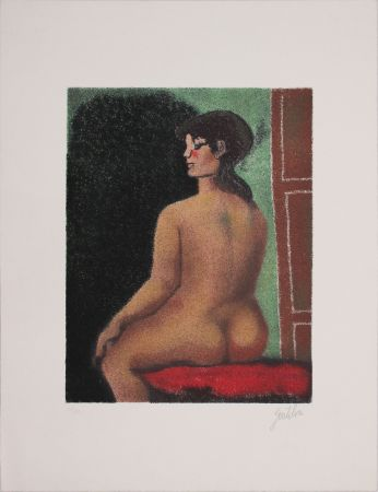 Lithographie Gentilini - Figura