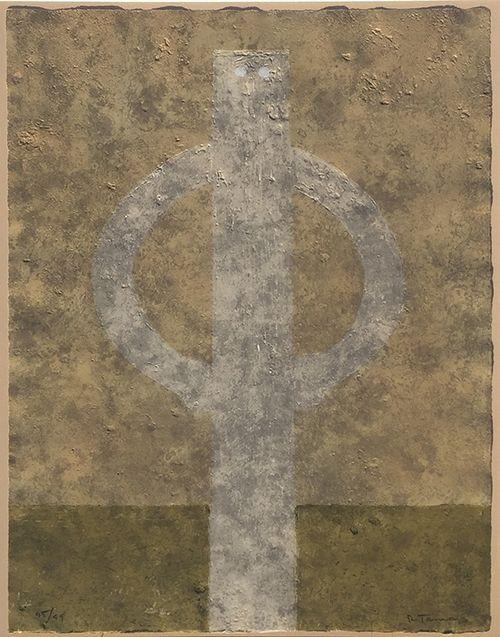 Radierung Und Aquatinta Tamayo - Figura en Jarras