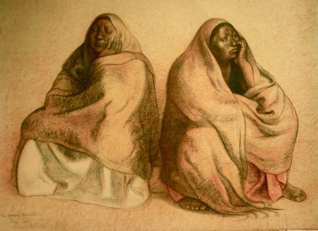 Lithographie Zuniga - Figuras Sentadas