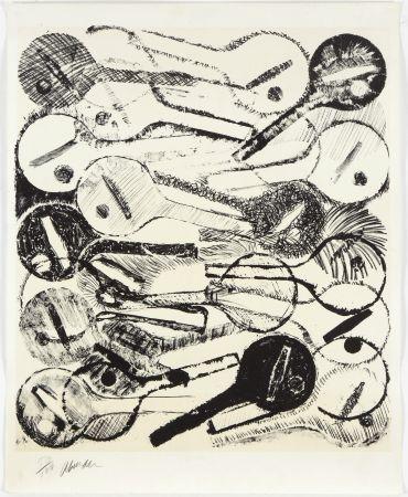 Lithographie Arman - Filtres À Air, 1969
