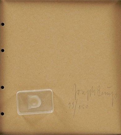 Multiple Beuys - Fingemagelabdruck aus geharteter butter