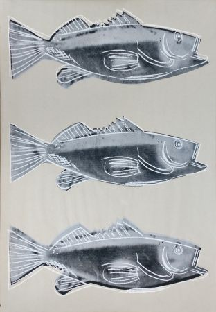 Siebdruck Warhol - Fish Fs Iiia.39