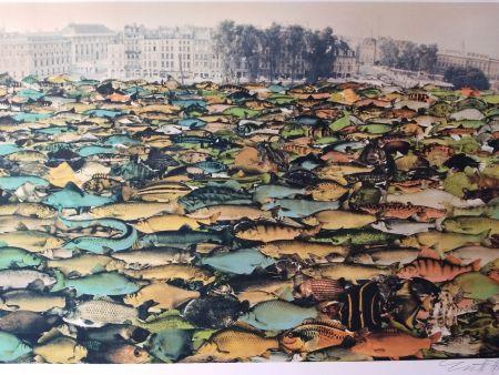 Lithographie Erro - Fishscape