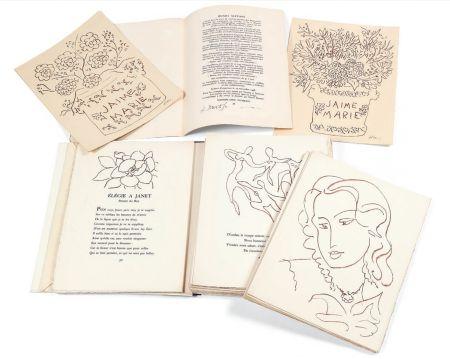 Illustriertes Buch Matisse - FLORILÈGE DES AMOURS DE RONSARD (Skira 1948). 1/30 avec suite monogrammée au crayon.