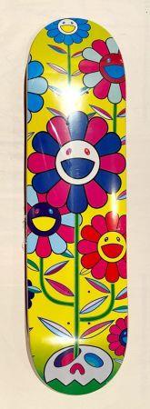 Siebdruck Murakami - Flower Cluster Skate Deck