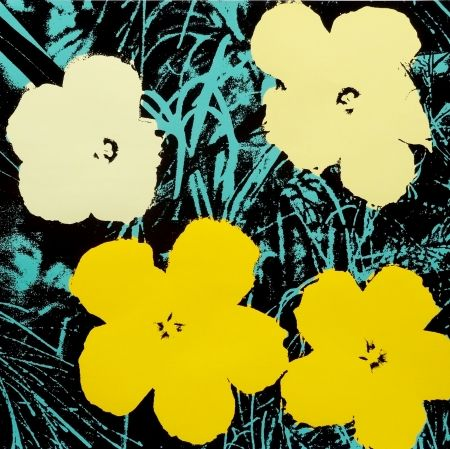 Siebdruck Warhol - Flowers