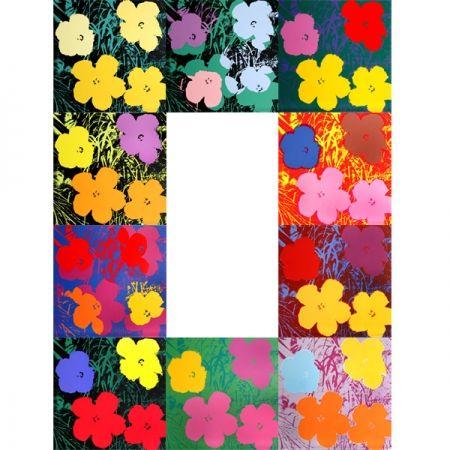 Siebdruck Warhol (After) - Flowers - Portfolio