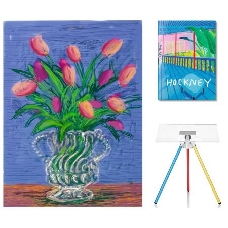 Keine Technische Hockney - Flowers, B with SUMO book