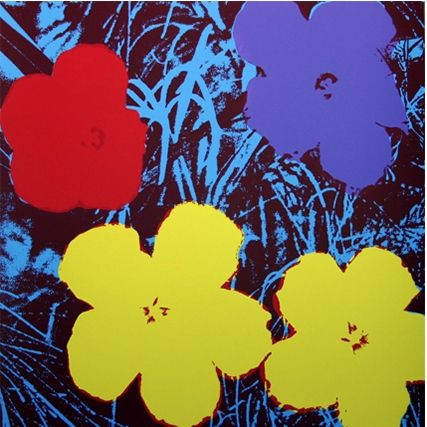 Siebdruck Warhol (After) - Flowers (by Sunday B. Morning)