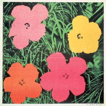 Siebdruck Warhol - Flowers (Fs Ii.6)