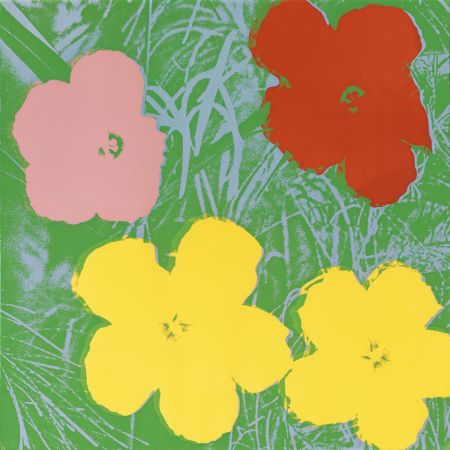 Siebdruck Warhol - Flowers (FS II.65)