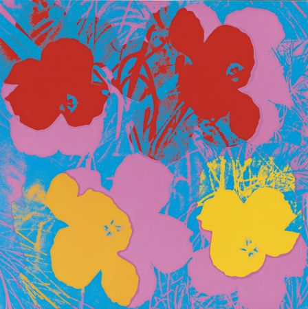 Siebdruck Warhol - Flowers (FS II.66)