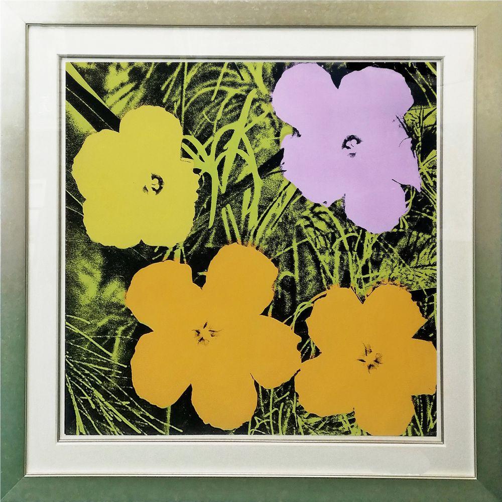 Siebdruck Warhol - FLOWERS FS II.67