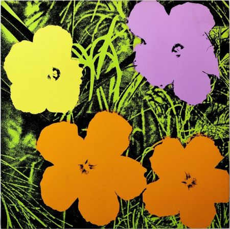 Siebdruck Warhol - Flowers (FS II.67)