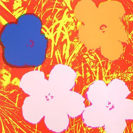 Siebdruck Warhol - Flowers (FS II.69)