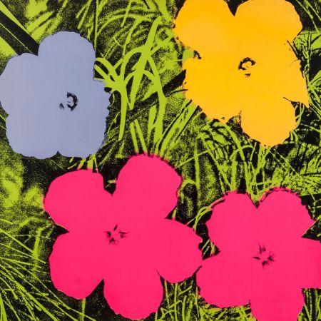 Siebdruck Warhol - Flowers (FS II.73)