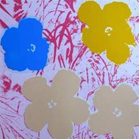 Siebdruck Warhol (After) - Flowers Ii