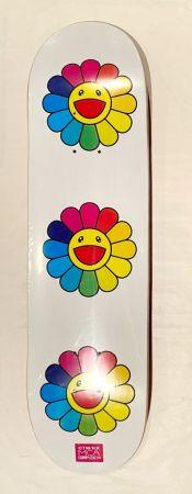 Siebdruck Murakami - Flowers Skate Deck