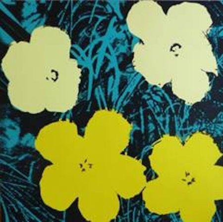Siebdruck Warhol (After) - Flowers Vii