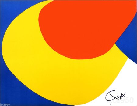 Lithographie Calder - Flying Colors I
