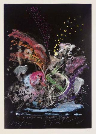 Siebdruck Tinguely - Fontaine Joe Syffert