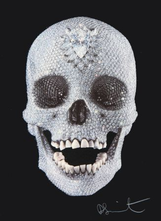 Siebdruck Hirst - For the Love of God