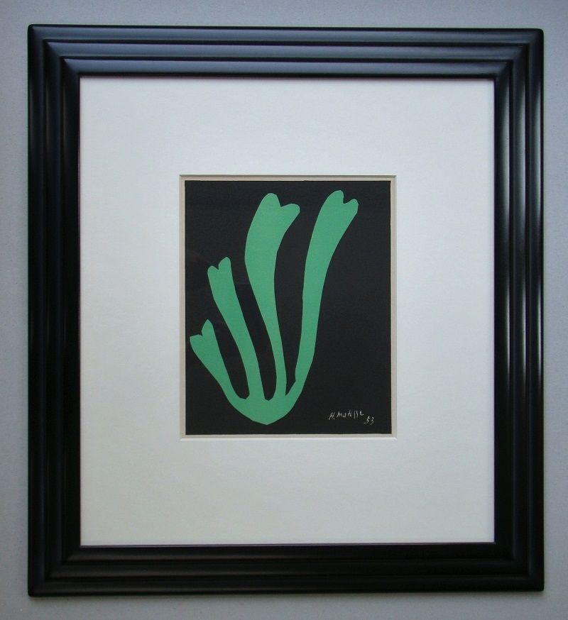 Lithographie Matisse - Fougère - 1953