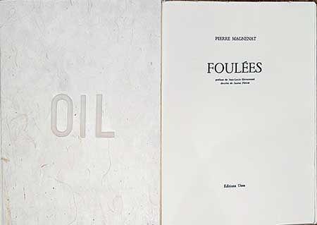 Illustriertes Buch Plensa - Foulées