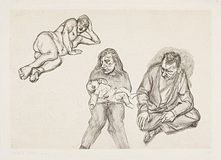 Stich Freud - Four Figures (Vier Figuren)