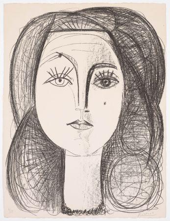 Lithographie Picasso - Françoise 1946