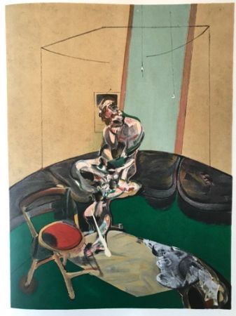 Lithographie Bacon - Francis Bacon - George Dyer - De Luxe Limited Edition Lithograph