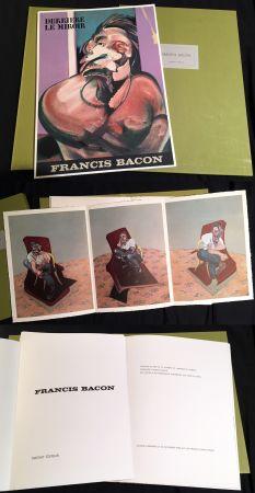 Illustriertes Buch Bacon - FRANCIS BACON : DERRIÈRE LE MIROIR N° 162 (1966). TIRAGE DE LUXE SUR RIVES.