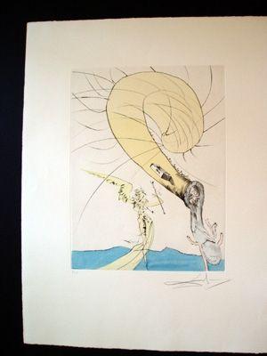 Stich Dali - Freud With A Snail's Head