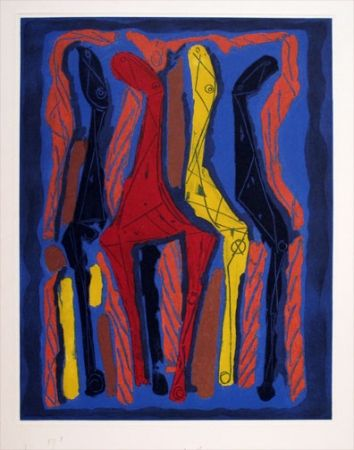 Aquatinta Marini - From Goethe series (1979)