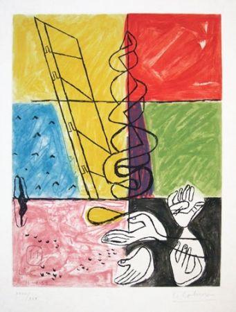 Radierung Und Aquatinta Le Corbusier - From Unite Suite #11b