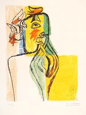 Radierung Und Aquatinta Le Corbusier - From Unite Suite #14