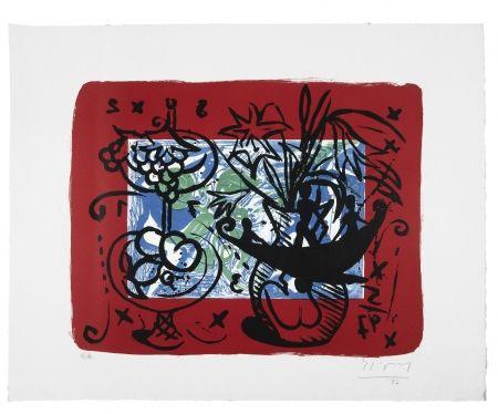Lithographie Szczesny - Fruit Still Life