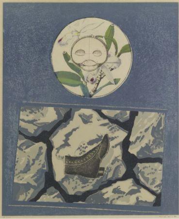 Lithographie Ernst - Fruits défendus