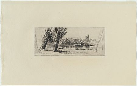 Stich Haden - Fulham on the Thames, in
