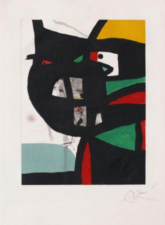 Radierung Und Aquatinta Miró - Fundacio Palma I