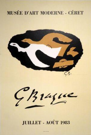 Lithographie Braque -  G Braque