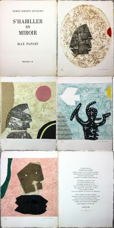 Illustriertes Buch Papart - G. Ribement Dessaigne : S 'HABILLER EN MIROIR (1977)