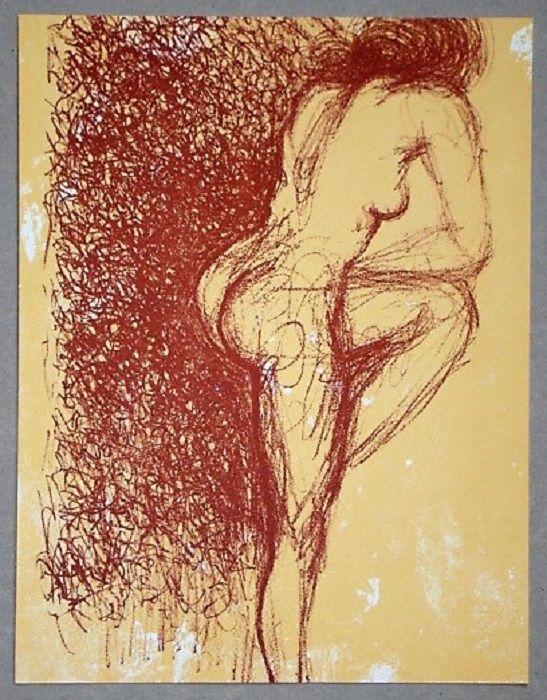 Lithographie Dali - Gala