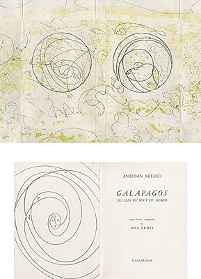 Illustriertes Buch Ernst - Galapagos - Les îles du bout du monde
